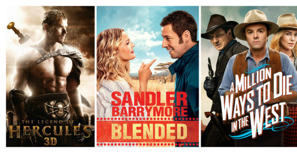 Dešimt blogiausių 2014-ųjų filmų