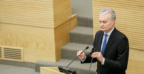 Seimas palaikė visus prezidento veto: partijos ir verslo asociacija turės mokėti už valstybės patalpas