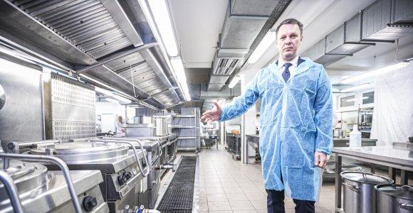 Naujasis Santaros klinikų pacientų maitintojas rizikos nesibaido, nors pipirų jau gavo
