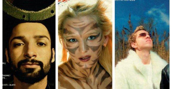 Testas: ar pažinsite prieš 15–20 metų populiarius Lietuvos atlikėjus iš nuotraukų ant žurnalo viršelių?