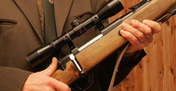 Miške Kėdainių rajone rastas graižtvinis šautuvas