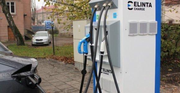 Elektromobilių įkrovimas Klaipėdoje ir toliau bus nemokamas