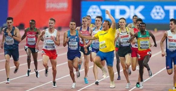 Disko metiko čempiono sprintas įamžintas naujose nuotraukose