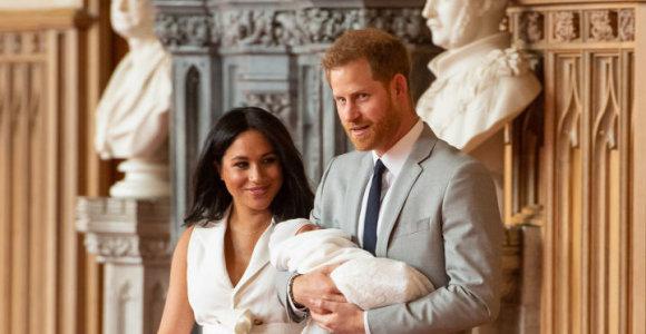 Atskleista karališkojo kūdikio Archie vardo reikšmė: pagerbė princesės Dianos atminimą