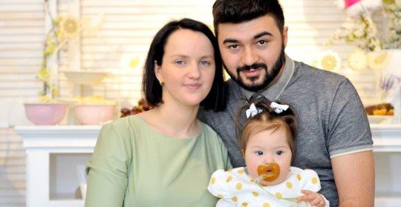 Ypatinga Ievos istorija: Italijoje ištekėjusi už gruzino kuria laimę Kaune ir augina kitokią dukrą