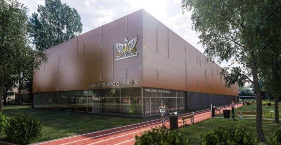 Šiaulių sporto gimnazijoje atidaroma daugiafunkcė sporto salė