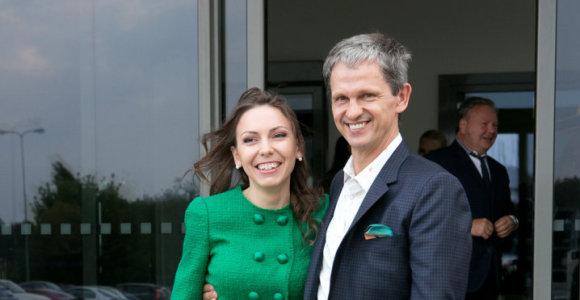 Nerijus Numavičius su žmona Kaetana oficialiai pasikeitė pavardes: tapo Numomis