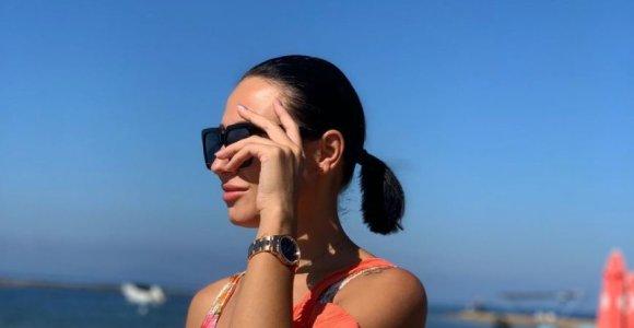 Vasha su dukra Graikijoje vieši pas buvusį sutuoktinį Ronaldą