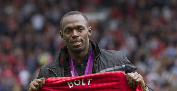 Usainas Boltas nejuokauja: rengiasi žaisti futbolą ir laimėti Čempionų lygą