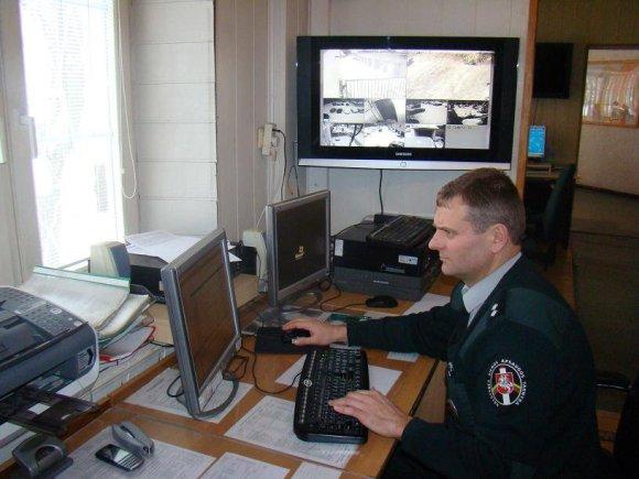 VSAT archyvo nuotr./VSAT pareigūnas, pasienio apsauga
