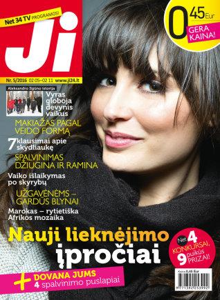 """Redakcijos archyvo nuotr./Žurnalas """"Ji"""" (5 Nr.)"""