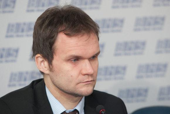 Juliaus Kalinsko/15min.lt nuotr./Sigitas Besagirskas, LPK Ekonomikos ir finansų departamento direktorius