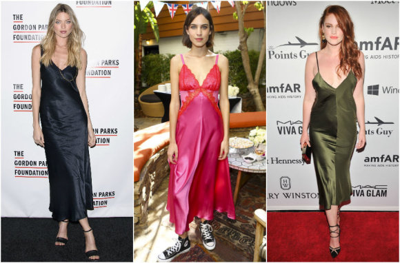 Vida Press nuotr./Martha Hunt, Alexa Chung, Katy Syme