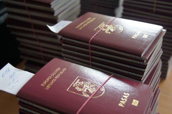 Migracijos valdybos nuotr./Lietuvos Respublikos pasas