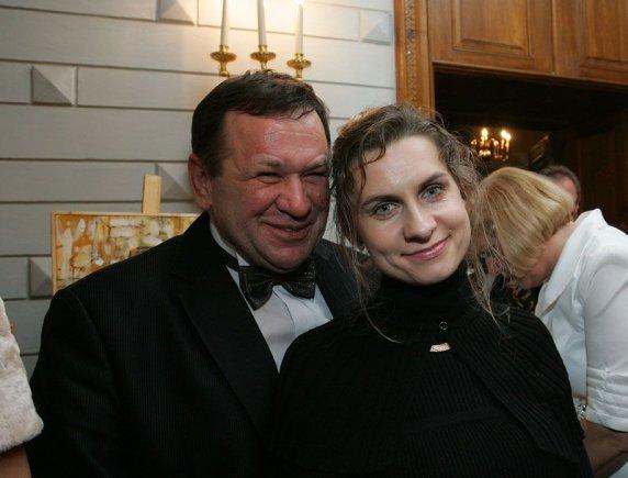 Aliaus Koroliovo nuotr./Kęstutis Pūkas ir Lina Pūkienė