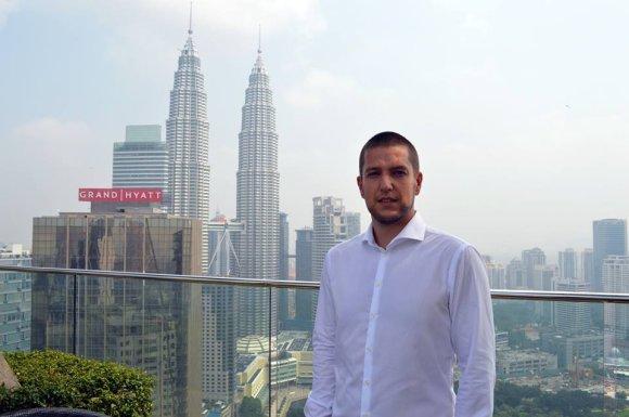 A.Derbuto nuotr./Malaizijos sostinėje Kvala Lumpūre gyvenantis ir dirbantis lietuvis Audrius Derbutas