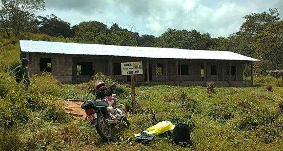 Runningforchange.lt nuotr. /Mokyklos statybos Kortor kaime jau baigtos