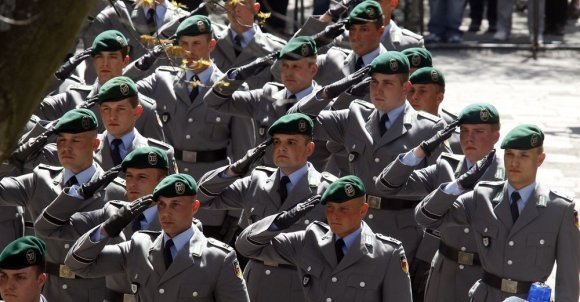 """Reuters""/""Scanpix"" nuotr./Vokietijos kariai"