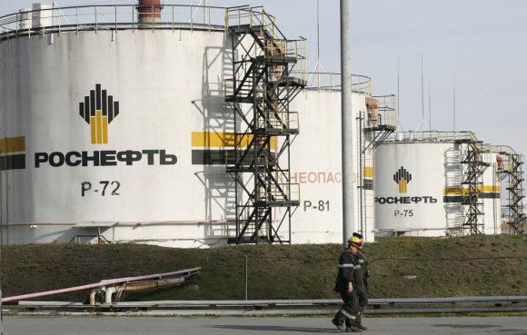 """Reuters""/""Scanpix"" nuotr./Rusijos valstybinė bendrovė ""Rosneft"""
