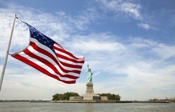 """""""Reuters""""/""""Scanpix"""" nuotr./Laisvės statula JAV"""