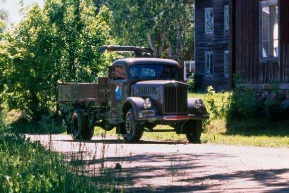"""Scania nuotr./""""Scania–Vabis"""" sunkvežimis"""