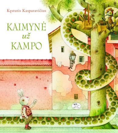 """K.Kasparavičiaus knyga """"Kaimynė už kampo"""""""