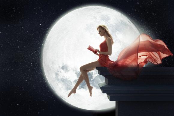 """""""Shuterstock"""" nuotr./Mėnulio pilnatis"""
