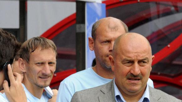 Gintaras Staučė ir Stanislavas Čerčesovas