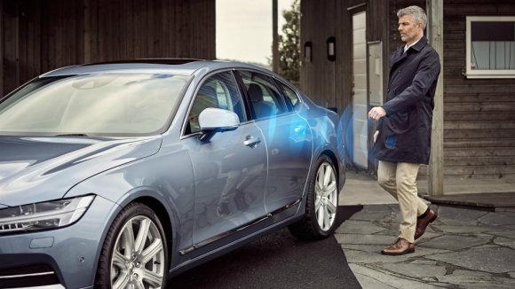 """""""Volvo"""" nuotr./""""Volvo"""" elektroninis raktas"""