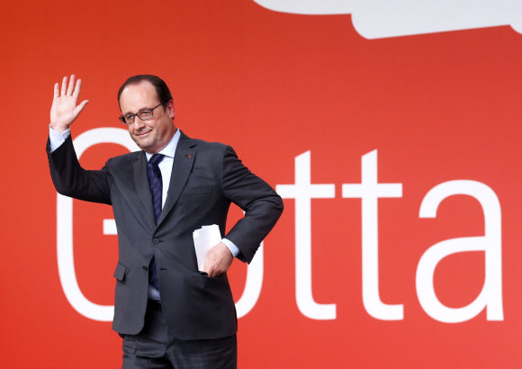 """Scanpix""/AP nuotr./Francois Hollande'as"