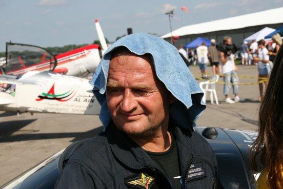 Alvydo Januševičiaus nuotr./Padangių maestro – Jurgis Kairys ir jo lėktuvas