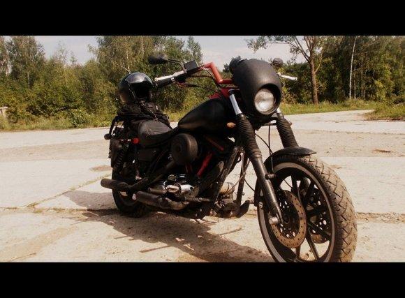 15min skaitytojo nuotr./Aivaro Kilkaus motociklas