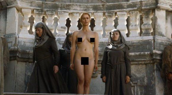 """Youtube"" stop kadras/Cersei Lannister seriale ""Sostų karai"""
