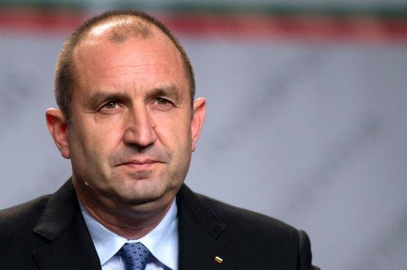 """AFP/""""Scanpix"""" nuotr./Išrinktasis Bulgarijos prezidentas Rumenas Radevas"""