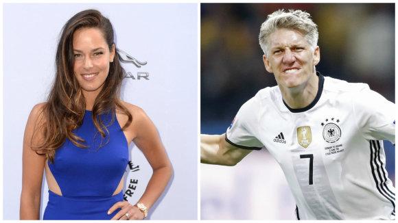 """""""Scanpix"""" nuotr./Ana Ivanovič ir Bastianas Schweinsteigeris"""
