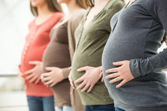 123RF.com nuotr./Nėščios moterys