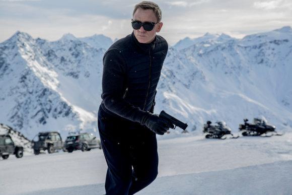 "Kadras iš filmo/Danielis Craigas filme ""Spectre"""