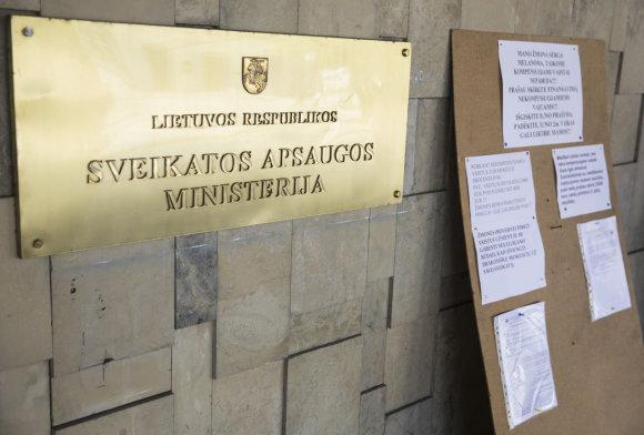 Luko Balandžio / 15min nuotr./Sveikatos apsaugos ministerija