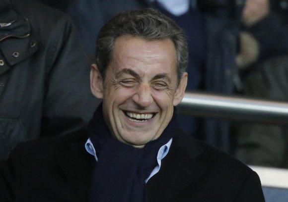 """Scanpix""/AP nuotr./Nicolas Sarkozy"