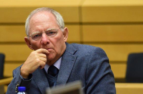"AFP/""Scanpix"" nuotr./Wolfgangas Schauble"