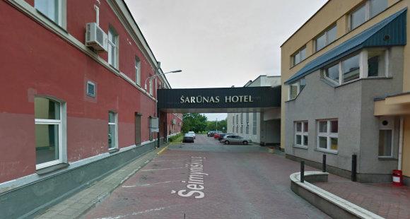 "Google street view nuotr./""Šarūno"" viešbutis"