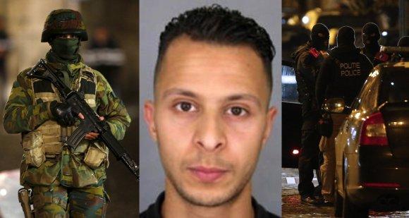 """""""Scanpix"""" nuotr./Belgijos pareigūnai medžioja Salahą Abdeslamą"""