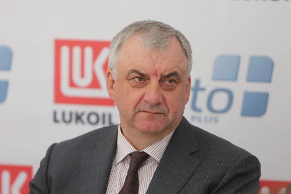 "Juliaus Kalinsko/15min.lt nuotr./""Lukoil Baltija"" vadovas Ivanas Paleičikas"