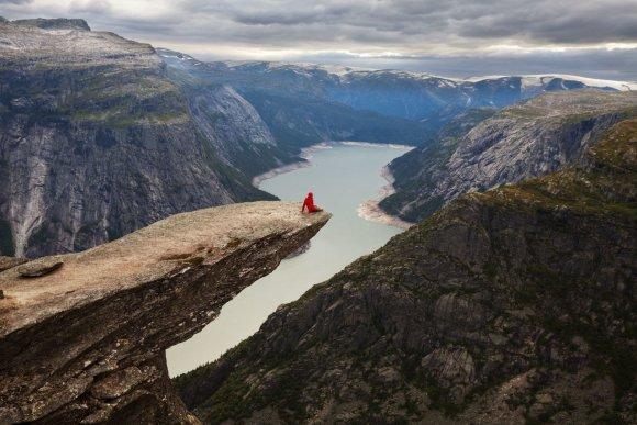 123rf.com nuotr./Trolio liežuvis Norvegijoje