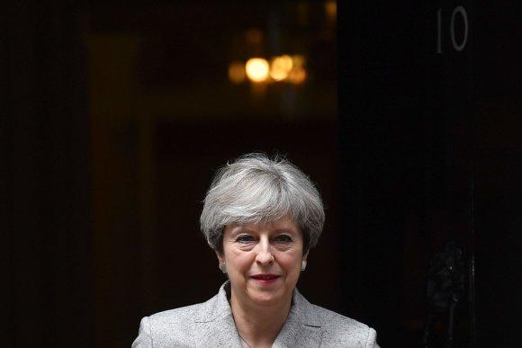X90073/Theresa May