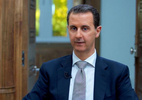 """""""Reuters""""/""""Scanpix"""" nuotr./Sirijos prezidentas Basharas al Assadas"""