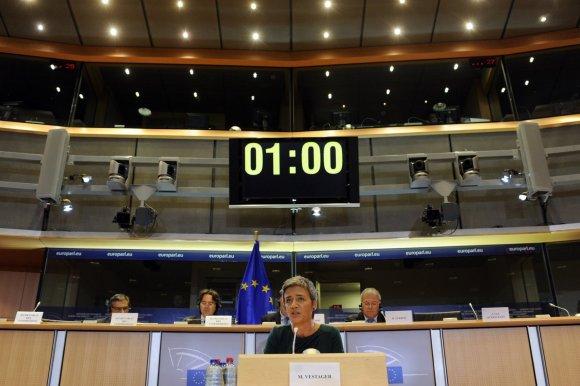 """Reuters""/""Scanpix"" nuotr./ES konkurencijos komisarė Margrethe Vestager"