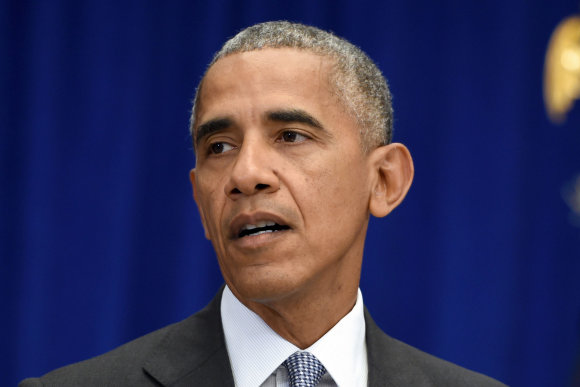 """Scanpix""/""Sipa USA"" nuotr./Barackas Obama"