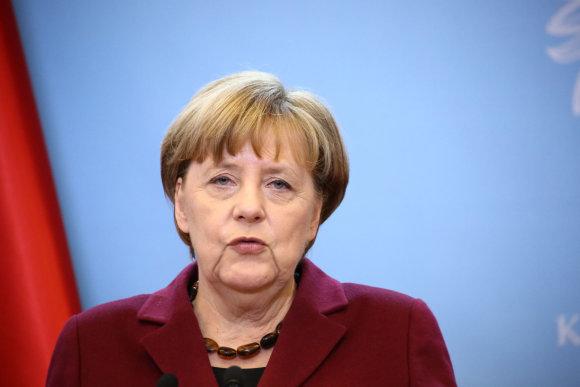 """Scanpix""/""SIPA"" nuotr./Angela Merkel."