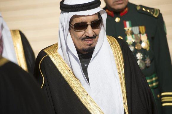 """AFP/""""Scanpix"""" nuotr./Saudo Arabijos karalius Salmanas"""